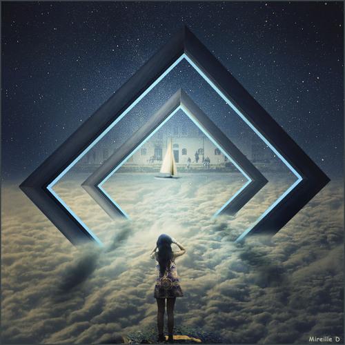 Cadre Fantaisie (Photomontage)