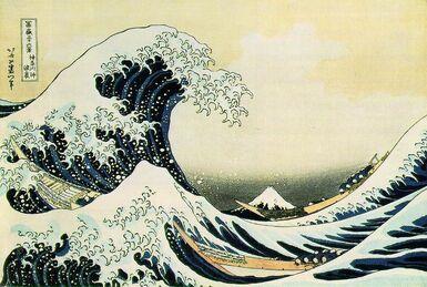 Autour de la vague d'Hokusai