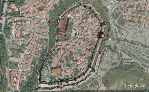 Carcassonne, les secrets de la Cité, le monde souterrain.(Albert Fagioli) le lundi 28 juillet 2014.