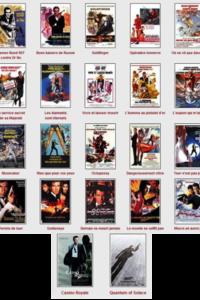 James Bond : Intégrale Edition 50ème anniversaire - (22 Films)