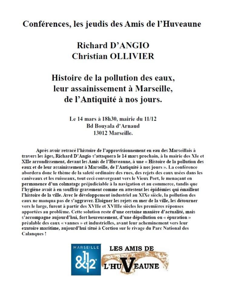 Conférence de Richard D'Angio et Christian Ollivier