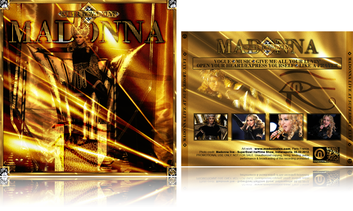 Download Madonna SuperBowl Halftime Show Audio HQ