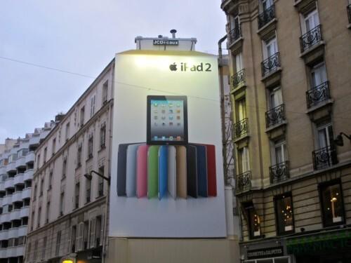 affiche géante ipad Passy 2253