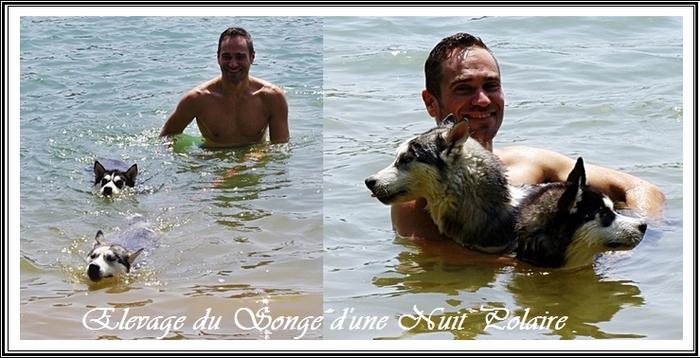 Baignade au lac de La Bancalié (7 août 2018)