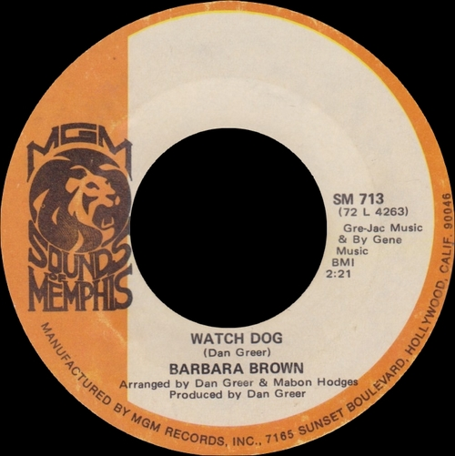 """Barbara & The Browns """" The Singles Collection & + """" SB Records DP 98 [ FR ]"""
