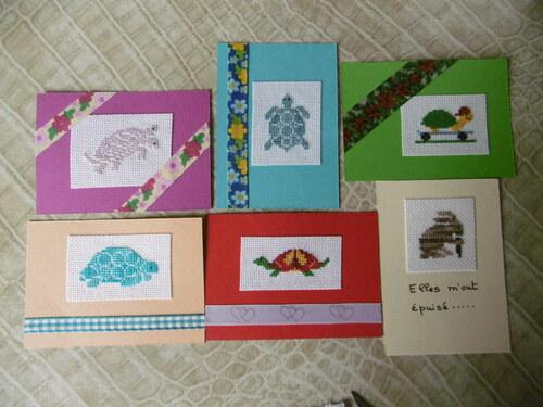 Echange ATC tortues contre cartes postales