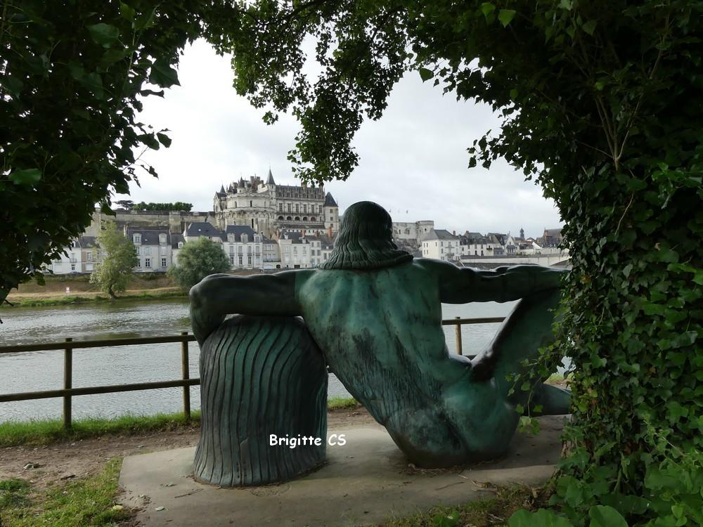 Léonard de Vinci, fidèle admirateur du Château Royal d'Amboise...