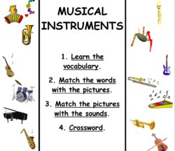 Vocabulary/Musical instruments
