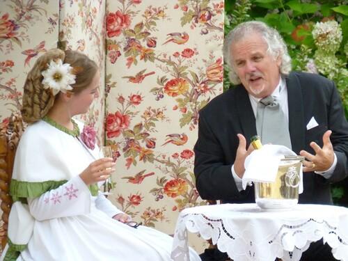 Le baron de Gondremark rend visite à la marquise de la Ballue