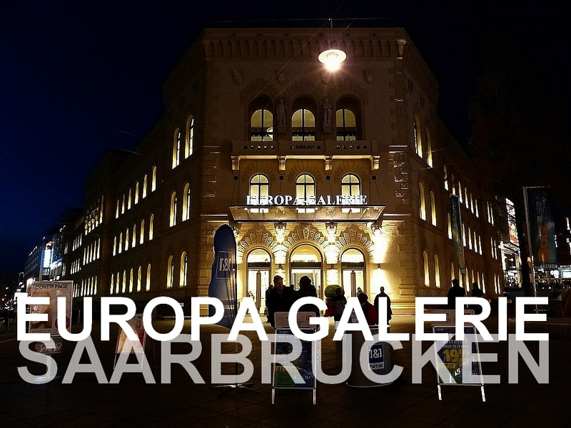 L'Europa Galerie de Sarrebruck en Allemagne...