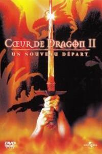 Coeur de dragon 2 - un nouveau départ : Geoff, un garçon d'écurie, tombe un jour par mégarde sur Drake, le dernier dragon sur Terre. Le jeune homme apprend alors à apprivoiser la bête mais Osric, un homme dangereux voulant conquérir le royaume, souhaite utiliser le dragon pour parvenir à ses fins. Attaché à Drake, Geoff décide de contrecarrer les plans d'Osric en le défiant à un duel à mort. ... ----- ... Origine : Américain  Réalisation : Doug Lefler  Acteur(s) : Christopher Masterson, Harry Van Gorkum, Rona Figueroa  Genre : Fantastique, Science fiction  Durée : 1h 24min  Année de production : 2000  Date de sortie : 24 janvier 2001 en DVD  Titre original : Dragonheart : A New Beginning   Critiques Spectateurs : 2,2