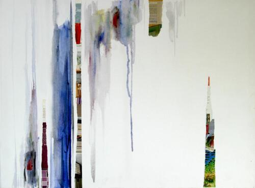L'artiste peintre plasticien: Yahia  BOURMEL de  Biskra.