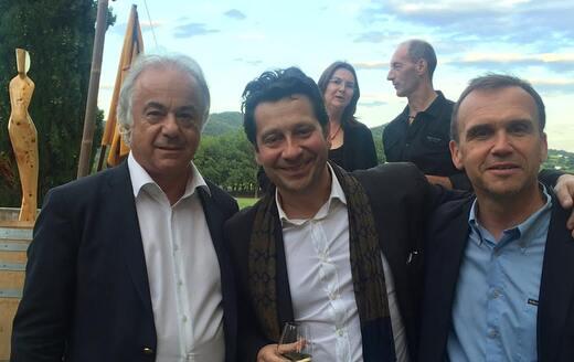 VINSOBRES avec Laurent Gerra
