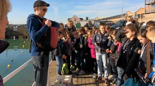 Une journée à Jersey pour les élèves du primaire