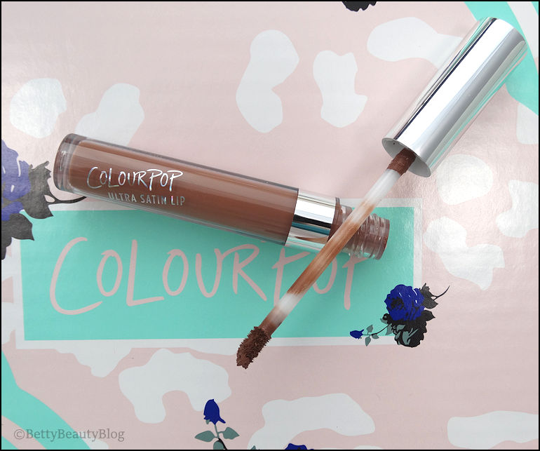 La collaboration Katheleenlights X colourpop (swatchs)