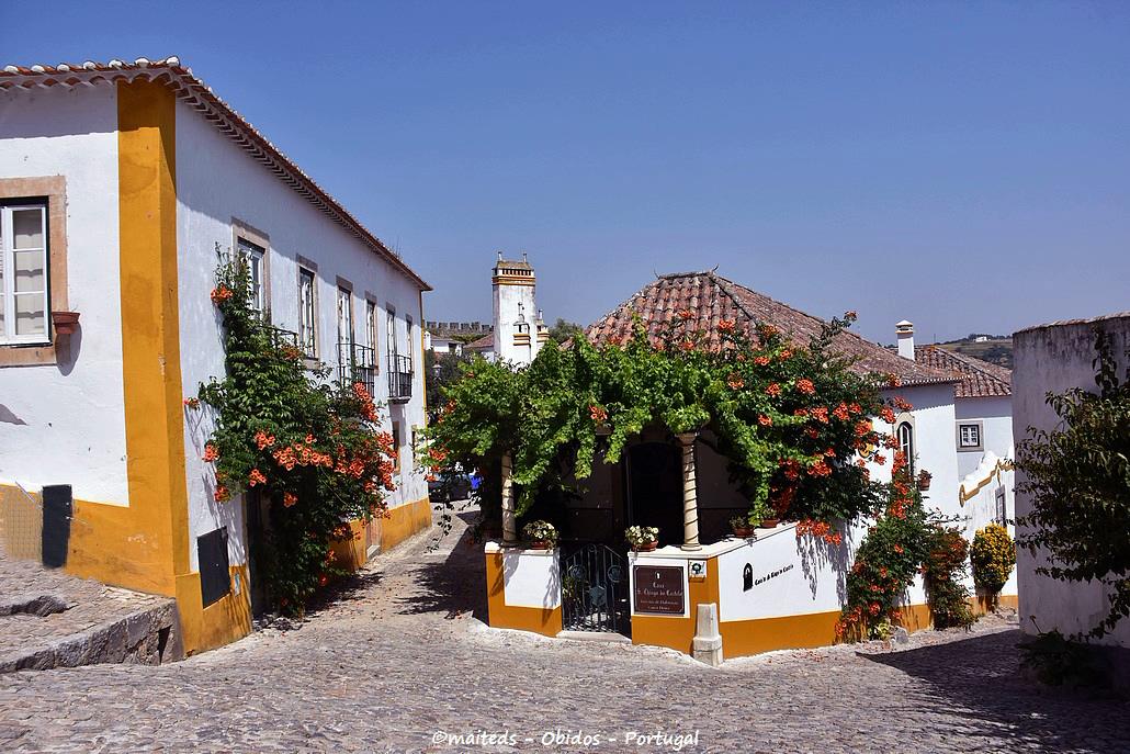 Dans les rues d'Óbidos - Portugal