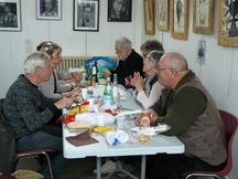 12 de Hag'artistes à Barfleur.