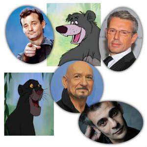 Le Livre de la jungle : les voix originales et françaises