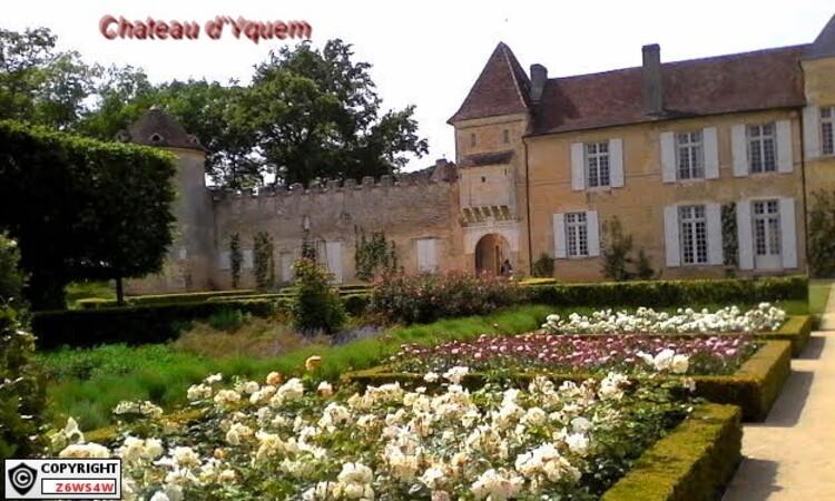 le 21 et 22 Mai porte ouverte au Château d'Yquem a Sauternes