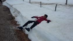 épaisse la neige !