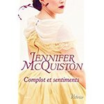 Chronique Complot et sentiments de Jennifer McQuiston