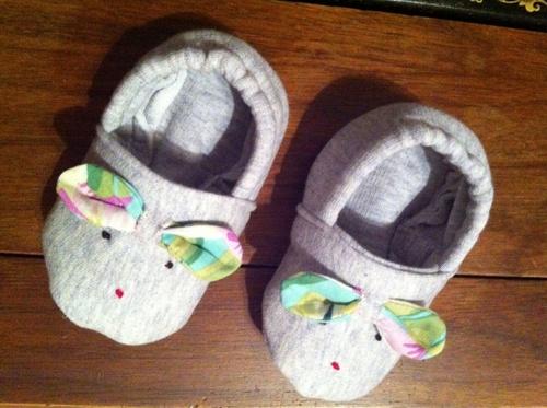 Petits chaussons souris ;-)