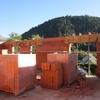 elévation des murs en briques 021