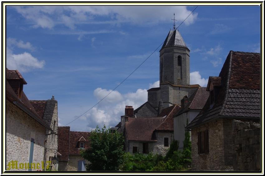 Le village de Martel dans le Lot