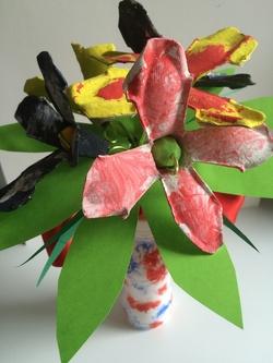 Vase de fleurs - Fête des mères 2016
