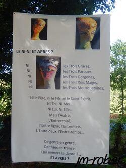 Saint Auvent: Une exposition exceptionnelle au château de Saint Auvent (87) les vingtièmes rencontres d'art contemporain ''thème la révolution''  (2/2)