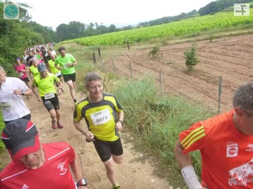 Courir à Saint Victor la Coste 2015