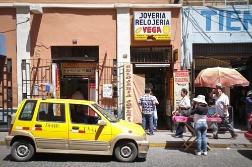 Arequipa : un petit tour dans la rue...