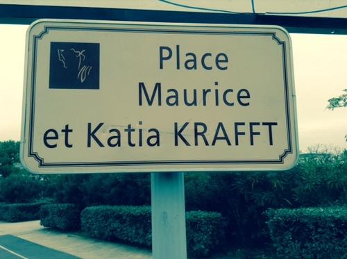 Maurice et Katia Kraft