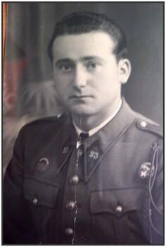 * Trésor d'archives : Léon PAGNOUX - Français libre, ancien de la 2ème DB / 2ème RMT / 6ème Compagnie