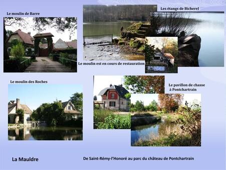 De Saint-Rémy-l'Honoré au parc du château de Pontchartrain