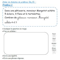 Ateliers de Résolution de Problèmes CE1