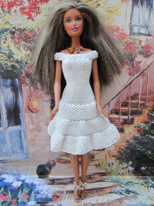 Robes sobres pour barbie