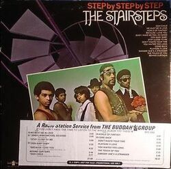 The Stairsteps - Step By Step By Step - Complete LP