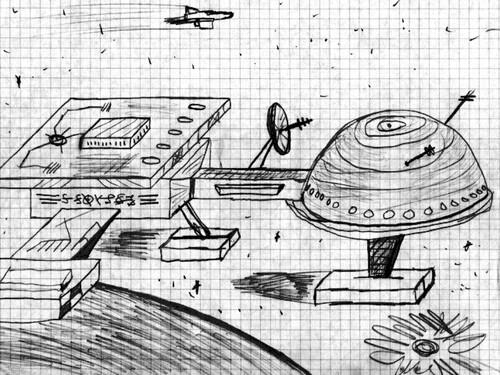 Vaisseau spatial (Juillet 1987)