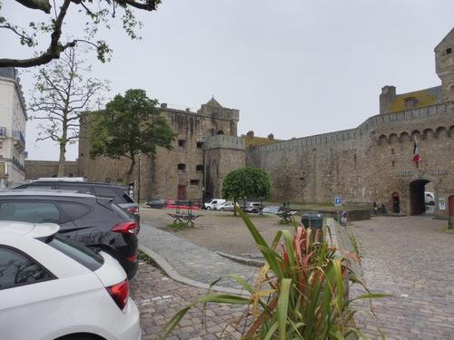 Visite de Saint Malo.