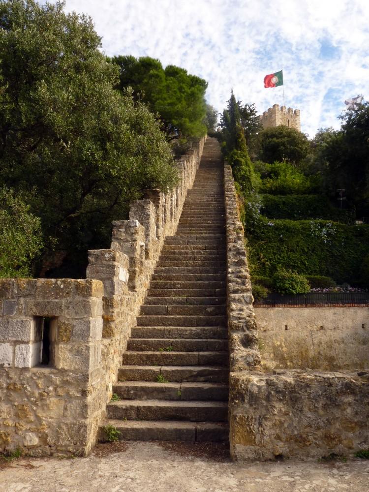 Escalier de la tour Saint-Laurent
