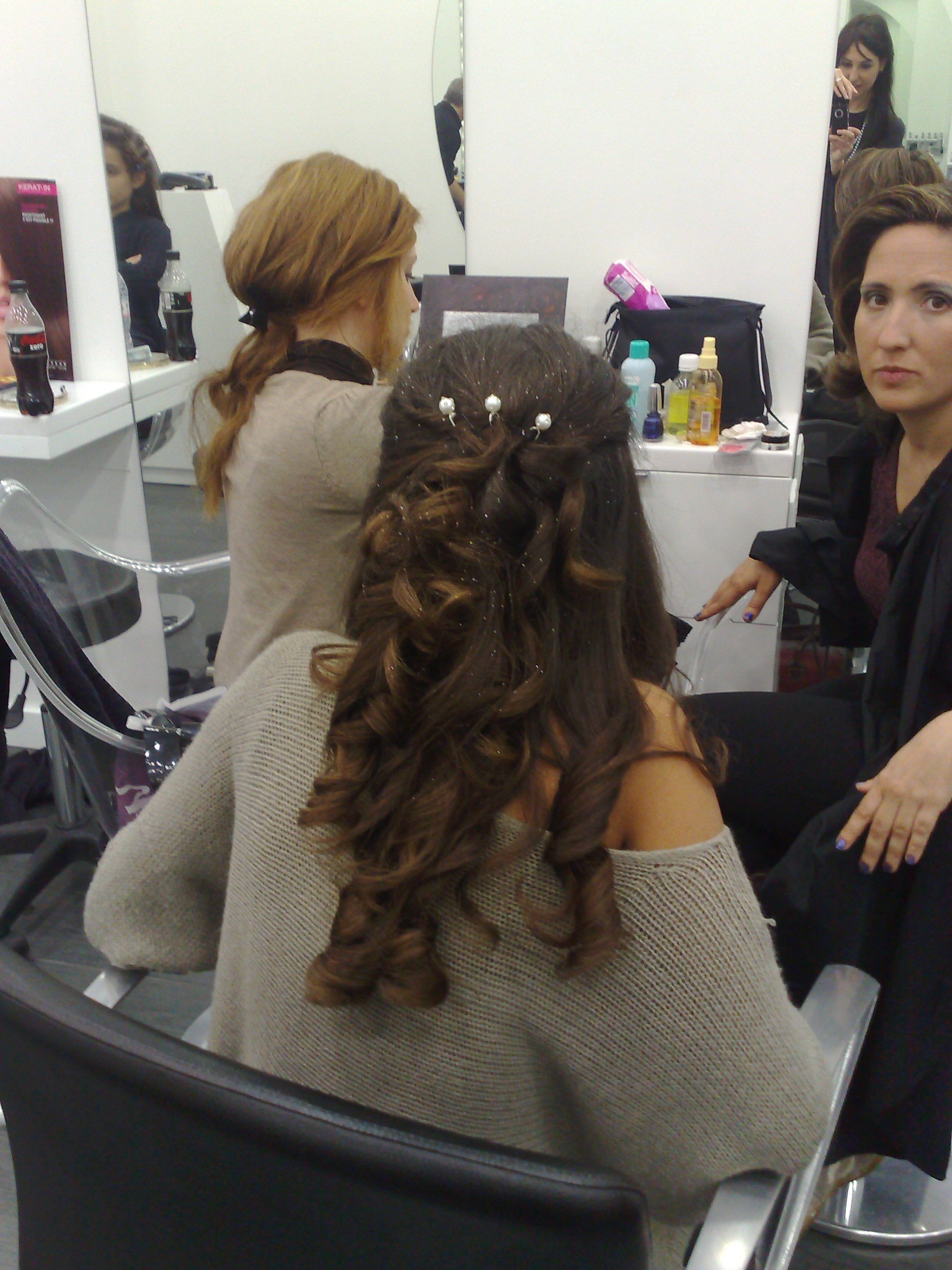 Coiffure Bouclee Soiree Boutique Cheval