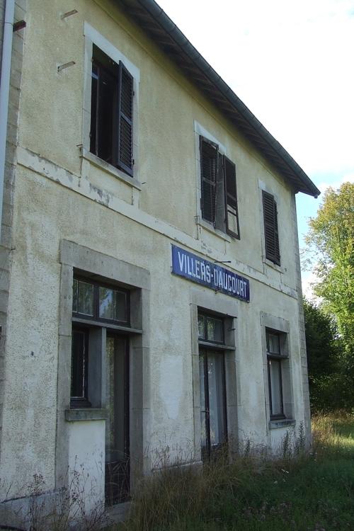 La gare de Villers-Daucourt (55)