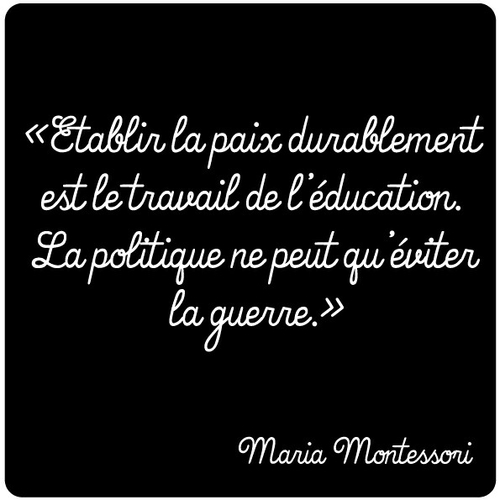 Education à la paix