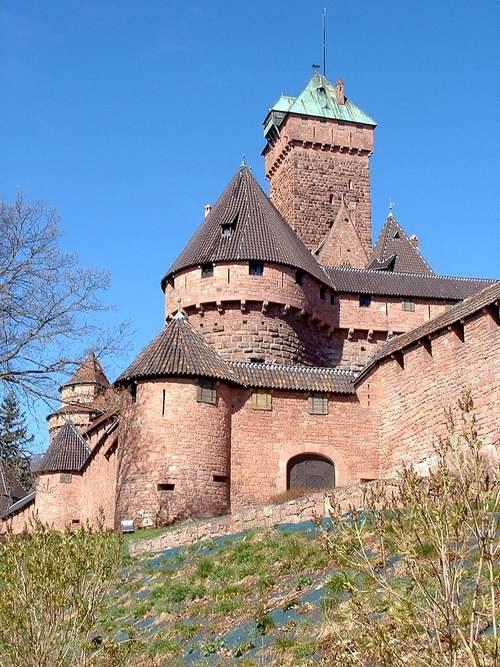 Le Haut-Koenigsbourg, fruit des échanges franco-allemands