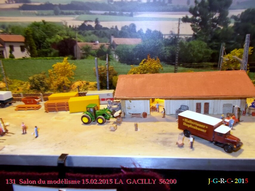 ANIMATION  LA GACILLY  56200    15/02/2015  SALON DU MODELISME  16/10/2015