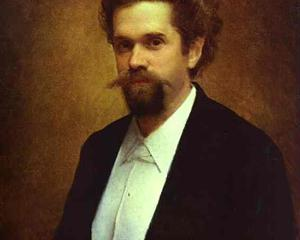 Portrait of the Cellist S Morozov - Ivan Kramskoy