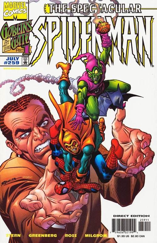 The Spectacular Spider-man 251-260