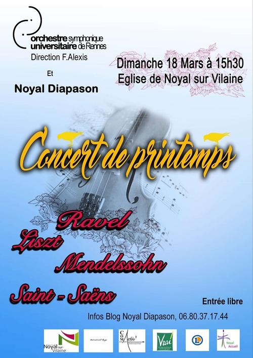- 18/03/2018 OSUR ORCHESTRE SYMPHONIQUE UNIVERSITAIRE DE RENNES