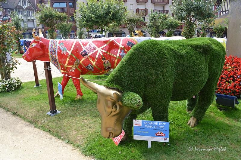 La Cow Parade à Deauville 3